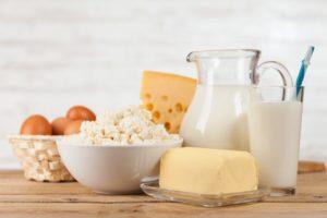 В рацион должны входить молочные продукты