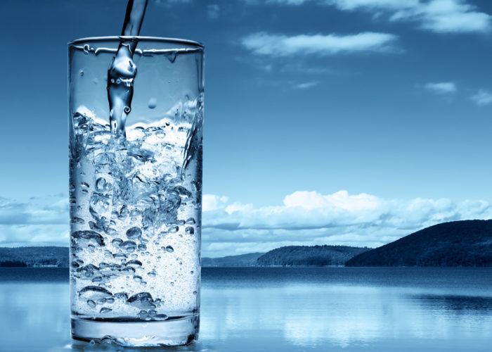 Теплая вода без газа