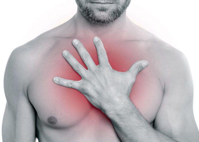 Болевые ощущения в грудной области
