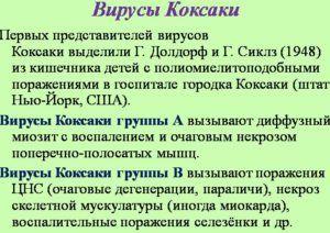Вирус Коксаки